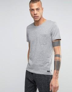 Футболка с карманом Produkt - Серый