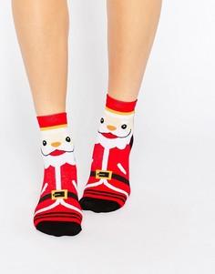 2 пары новогодних носков 7X - Мульти