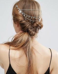 Заколка для волос с искусственным жемчугом ASOS - Серебряный