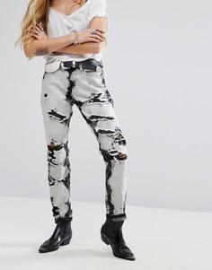Джинсы в винтажном стиле Glamorous - Серый