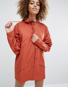 Непромокаемая куртка Rains - Коричневый