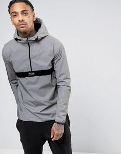 Светоотражающая куртка через голову Nicce London - Серый