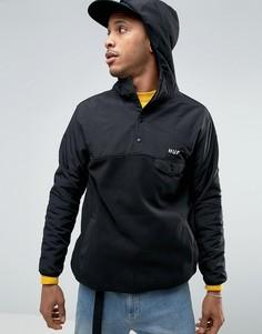 Флисовая куртка через голову HUF - Черный