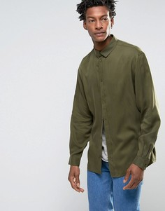 Рубашка Weekday Distance - Зеленый