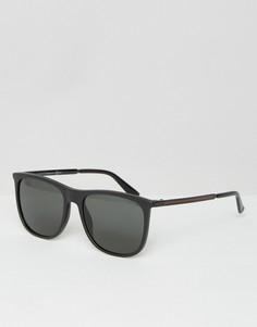 Квадратные солнцезащитные очки Gucci GG 1129/S - Черный