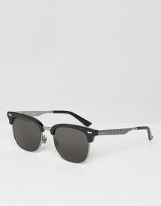 Солнцезащитные очки в стиле ретро Gucci GG 2273/S - Черный