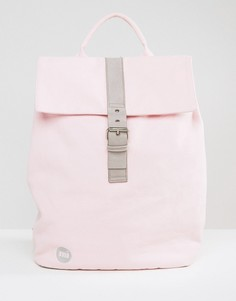 Светло-розовый парусиновый рюкзак Mi-Pac Day Pack - Розовый
