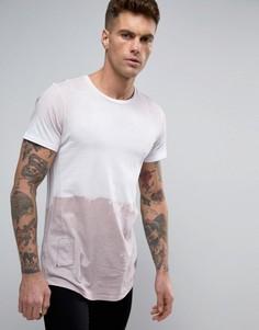 Длинная футболка Religion - Розовый