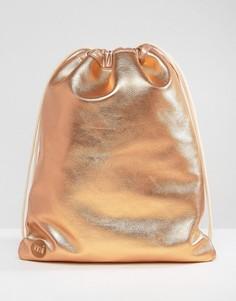 Сумка для инструментов цвета розового золота Mi-Pac - Золотой