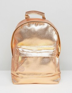 Рюкзак мини цвета металлик розовое золото Mi-Pac - Золотой