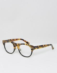 Солнцезащитные очки в стиле ретро Gucci GG 1089 - Черный