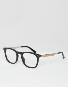 Очки в стиле ретро Gucci GG 1155 - Черный