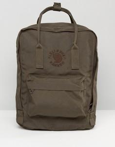 Темно-оливковый рюкзак Fjallraven Re-Kanken - Зеленый