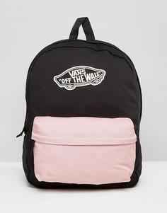 Рюкзак с контрастным карманом Vans - Черный