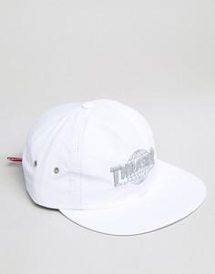 Нейлоновая бейсболка со светоотражающим логотипом HUF x Thrasher - Белый