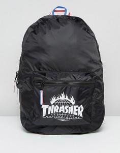 Складываемый рюкзак HUF x Thrasher - Черный
