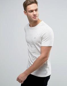 Меланжевая футболка Jack & Jones Originals - Белый