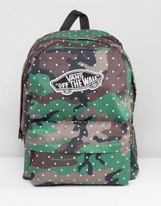 Рюкзак с камуфляжным принтом Vans - Мульти