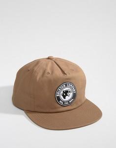 Бейсболка с высоким профилем Brixton Legion - Коричневый