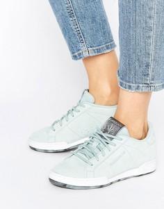 Серо-голубые кроссовки Reebok Npc Ii - Серый