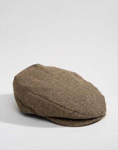 Плоская кепка Brixton Hooligan - Коричневый