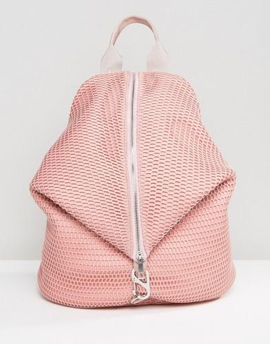 Сетчатый рюкзак ASOS LIFESTYLE - Розовый
