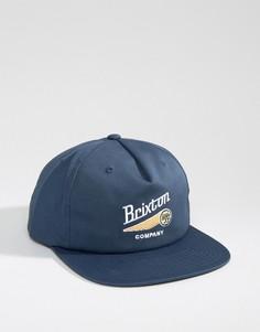 Бейсболка Brixton Maverick - Темно-синий
