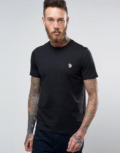Черная футболка узкого кроя с логотипом PS by Paul Smith Zebra - Черный