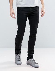 Черные облегающие джинсы Cheap Monday TUX - Черный