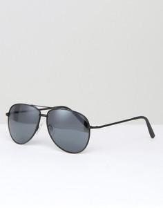 Солнцезащитные очки-авиаторы Missguided - Черный
