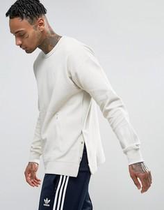 Бежевый свитшот с круглым вырезом adidas Originals Paris Pack Instinct BK0514 - Бежевый