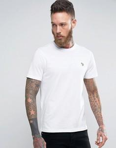 Белая узкая футболка с логотипом PS by Paul Smith - Белый