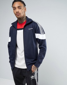Темно-синяя спортивная куртка adidas Originals CLR84 BK5912 - Темно-синий