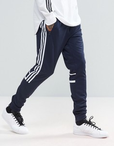 Темно-синие джоггеры adidas Originals CRL84 BK5928 - Темно-синий