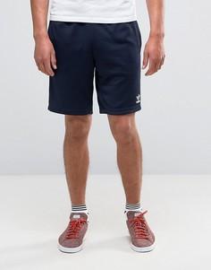 Темно-синие шорты adidas Originals Superstar AY7702 - Темно-синий