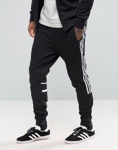 Черные джоггеры adidas Originals CRL84 BK5929 - Черный