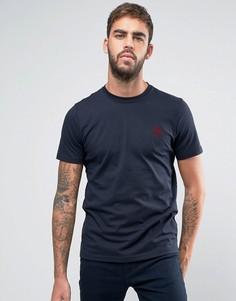 Узкая темно-синяя футболка с логотипом PS by Paul Smith PS - Темно-синий