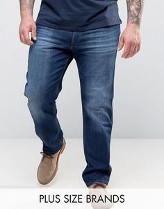 Прямые джинсы классического кроя Wrangler PLUS Greensboro - Синий