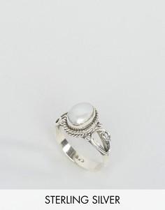 Кольцо с камнем для родившихся в июне Rock N Rose - Серебряный