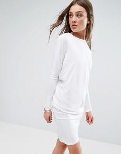 Платье с длинными рукавами Glamorous - Белый