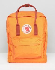 Классический рюкзак выгоревшего оранжевого цвета Fjallraven Kanken - Оранжевый