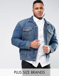 Классическая джинсовая куртка Wrangler PLUS - Синий