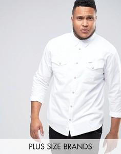 Рубашка в стиле вестерн Wrangler PLUS Heritage - Белый