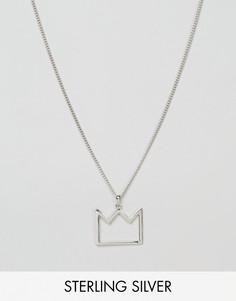 Серебряное ожерелье английской пробы с подвеской Serge De Nimes 950 - Серебряный