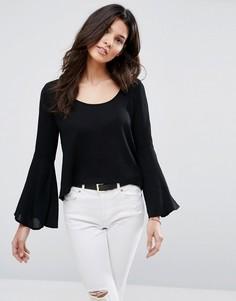 Блузка с расклешенными рукавами Glamorous - Черный