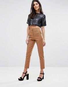 Узкие брюки Glamorous - Коричневый