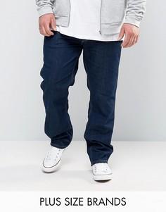 Прямые джинсы классического кроя Wrangler PLUS Greensboro - Темно-синий