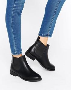 Ботинки челси на плоской подошве Park Lane - Черный