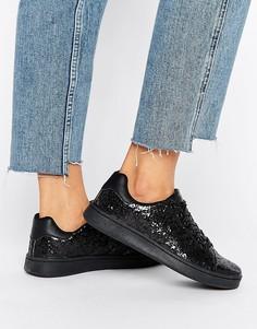 Блестящие кроссовки Truffle Collection - Черный