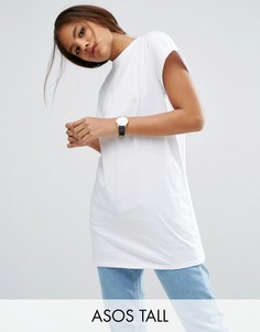 Удлиненная футболка ASOS TALL The Ultimate Easy - Белый